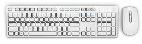 Dell Wireless Keyboard and Mouse - KM636 - US Intl White